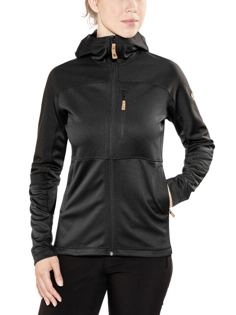 Fjällräven Abisko Trail Fleece Jacket Women Black